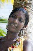 Jolie jeune amérindienne nicaragua — Photo