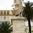 Stock Photo: Statue Napoleon Bonaparte BastiCorsica