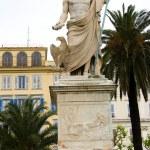 Постер, плакат: Statue Napoleon Bonaparte Bastia Corsica