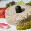 Terrine food appetizer Corsica France — Stockfoto