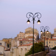 Stock Photo: Medieval architecture in Citadel Old town Upper city Bonifac