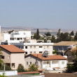 Stock Photo: Rooftop cityscape view of LarnacCyprus hotels condos apartment