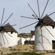 Windmill Ios Island Cyclades Greece with thatch roof — Stock Photo #13086645