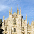 Royalty-Free Stock Photo: The Duomo Milan Italy