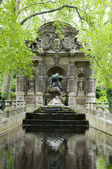 The Medicic Fountain Luxembourg Gardens Paris France — Stock Photo