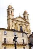 Jana chrzciciela kościół korsyka bastia francja europa — Zdjęcie stockowe