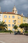 Diamant Square outdoor park Ajaccio Corsica France — Stock Photo