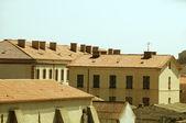Medieval architecture bonifacio corsica — Stock Photo