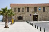 Larnaca fort by seaside larnaca cyprus — Stock Photo