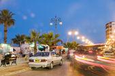 Flood festival athens avenue larnaca cyprus — Stock Photo