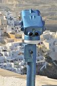 观景台在希腊圣托里尼岛 — 图库照片