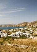Panorama greek island ios — Stock Photo