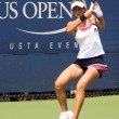 Anastasia Rodionova backhand stroke us open 2009 - Stock Photo