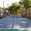 Stock Photo: Platform tennis paddle court