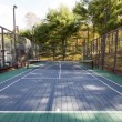 Platform tennis paddle court - Stockfoto