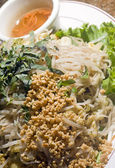 Bun xao vietnamese food — Stock Photo