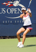 Anastasia Rodionova backhand stroke us open 2009 — Stock Photo