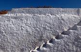 ściana z kroków — Zdjęcie stockowe