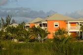 Kabiny w luksusowy tropikalny ośrodek — Zdjęcie stockowe