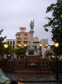 Columbus park stary san juan — Zdjęcie stockowe