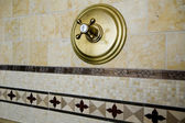 Tile detail shower — Stock Photo
