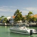 Florida keys canal — Stok fotoğraf