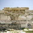 Poros temple delos - Stock Photo