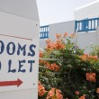 Rooms to let — Stock Photo