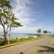 Malecon road corn island north end — Stock Photo