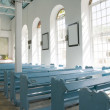 St. marys anglican church interior — Stock Photo