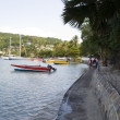 The belmont walkway port elizabeth bequia — Stock Photo