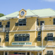 Stock Photo: Revenue office bequist. vincent and grenadines islands