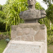 Stock Photo: Statue Simon Bolivar Windwardside SabNetherlands Antilles