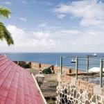 Постер, плакат: Cannons Fort Oranje Oranjestad Sint Eustatius island Caribbean