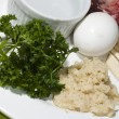 Passover seder plate - Lizenzfreies Foto