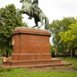 Stock Photo: Statue of Francis II HungariParliament Lajos Kossuth