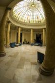 Atrium hotel lobby lima peru — Stock Photo