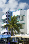 Art deco hotel south beach miami florida — Stock Photo
