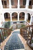 Klassieke oude hotel quito-ecuador — Stockfoto