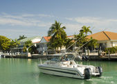 Canal florida keys — Stock Photo