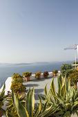ギリシャの島ビュー — ストック写真