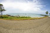 Malecon road corn island north end — Stock Photo