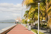 Waterfront development program port of spain trinida — Stock Photo