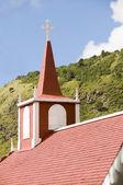 église d'architecture saba antilles néerlandaise — Photo