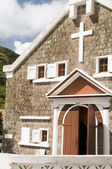 Sacred Heart Church The Bottom Saba Netherlands Antilles — Stock Photo