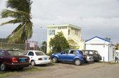 Airport tower Sint Eustatius Dutch Caribbean Netherlands Antille — Stock Photo