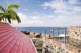 Cannons Fort Oranje Oranjestad Sint Eustatius island Caribbean — Stock Photo