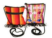 Borsa sacchetto tessuto realizzato in nicaragua — Foto Stock