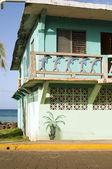 Mais grande facciata vecchia hotel lungomare isola nicaragua — Foto Stock