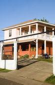 Isola di mais di architettura concreta nicaragua — Foto Stock